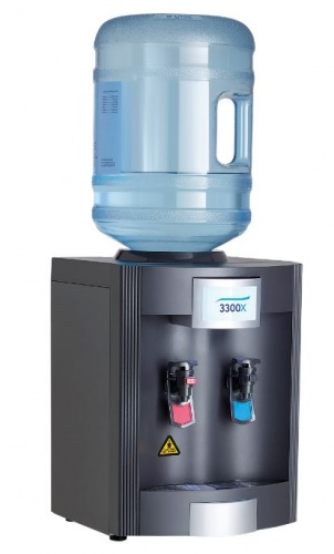 3300x hot and cold Table Top Bottled water dispenser
