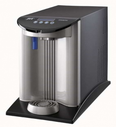 J-Class TOP 30 IB AC POU Countertop Water Cooler | Black and Silver | Cosmetal