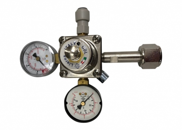 Sparkling Gas Regulator (double gauge 21 mm)