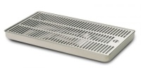 VR-12 Stainless Steel Drip Tray with Drainage | Cosmetal